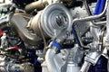 Truck engine Royalty Free Stock Photo