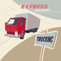 Truck express delivery