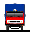 Truck front view Royalty Free Stock Photo