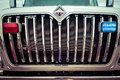 Truck grill large chrome vertical Royalty Free Stock Image