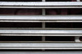 Truck grille background front detail of a a Royalty Free Stock Photography