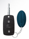 Truck ignition remote key