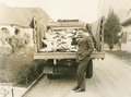 Truck load of mail Royalty Free Stock Photo