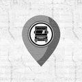 Truck location point design