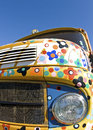 Truck, old colorful lorry. Retro styles. Stock Photography