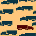Truck pattern Royalty Free Stock Photo
