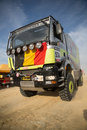 Truck at the Rally Dakar 2013 Royalty Free Stock Photos