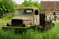 Truck rusting vintage vehicle history Royalty Free Stock Photos