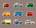 Truck stickers Stock Photography