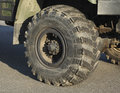 Truck tires Royalty Free Stock Photo