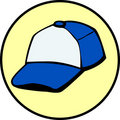 Trucker or baseball cap vector illustration Royalty Free Stock Photos