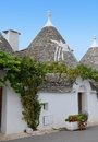 Trulli in the southern italian town of alberobello apulia italy Royalty Free Stock Image