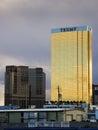 The Trump Tower in Las Vegas, Nevada, USA Royalty Free Stock Photo