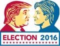 Trump Versus Clinton Election 2016