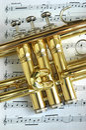 Trumpet Valves Royalty Free Stock Photo