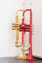 trumpets Royalty Free Stock Photo