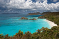 Trunk bay on the island of st john Royalty Free Stock Photos