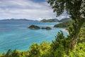 Trunk Bay, St. John, U.S. Virgin Islands Royalty Free Stock Photo