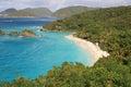 Trunk Bay, St John, US Virgin islands Royalty Free Stock Photo