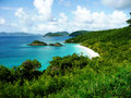 Trunk bay ST john usvi Stock Photo