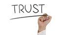Image : Trust business  jealous