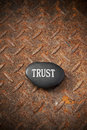Trust Rock Rusty Background