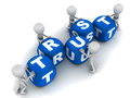 Building trust Royalty Free Stock Photo