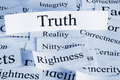 Truth Concept Royalty Free Stock Photo