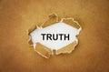 Truth Royalty Free Stock Photo
