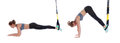 TRX pike exercise