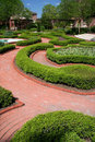 Tryon Palace Garden Royalty Free Stock Photo