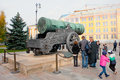 Tsar Cannon in Moscow Kremlin Stock Photo
