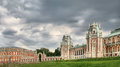 Tsaritsyno park in moscow the big palace architecture of russia Royalty Free Stock Photos