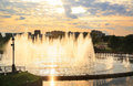 Tsaritsyno park in moscow fountain s Stock Images