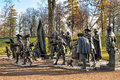 Tsarskoe Selo, Night watch Royalty Free Stock Photo