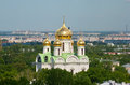 Tsarskoye Selo (Pushkin), Saint-Petersburg, Russia. Church of St. Catherine martyr Royalty Free Stock Photo