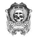 Tshirt Design Concept Royalty Free Stock Photo