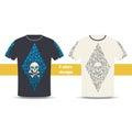 Tshirt Design One Royalty Free Stock Photo