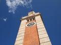 The Tsim Sha Tsui Clock Tower Stock Image
