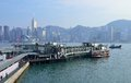 Tsim Sha Tsui Star Ferry Pier, Hong Kong Royalty Free Stock Photo