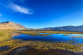 Tso moriri lake in himalayas ladakh india mountains Stock Photos