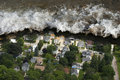 Tsunami Tidal Wave Natural Disaster Royalty Free Stock Photo
