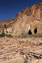 Tsuonyi pueblo ruins bandelier national monument new mexico Royalty Free Stock Image