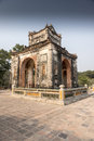 Tu duc tomb khiem tomb is one of the most beautiful tombs of the nguyen dynasty with sophisticated architecture and charming Stock Photography