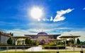 Tuanku Mizan Zainal Abidin Mosque Putra Jaya Malaysia Royalty Free Stock Photo