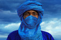 Tuareg man Royalty Free Stock Photo