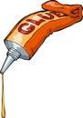 Tube of glue