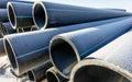 Tubes High Density Polyethylene Royalty Free Stock Photo