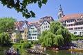 Tubingen, picturesque town in Germany