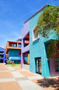 Tucson arizona april colorful adobe home in historic district of downtown arizona usa on april Stock Image